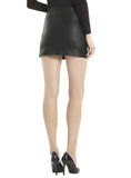 Leather Women Micro Mini Skirt , Women Leather Skirt - CrabRocks, LeatherfashionOnline  - 2
