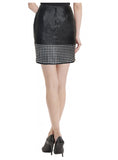 Leather Women Hem Skirt , Women Leather Skirt - CrabRocks, LeatherfashionOnline  - 2