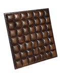 Leather Designer Multi Cubes Decorative Wall Tiles , Leather Tiles - CrabRocks, LeatherfashionOnline  - 2
