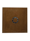 Leather Designer Circle strip Decorative Wall Tiles Camel, Leather Tiles - CrabRocks, LeatherfashionOnline  - 1
