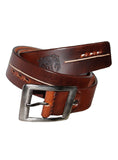 Best Selling Leather Mens Casual Belt Pull Up , Mens Leather Belt - CrabRocks, LeatherfashionOnline  - 2