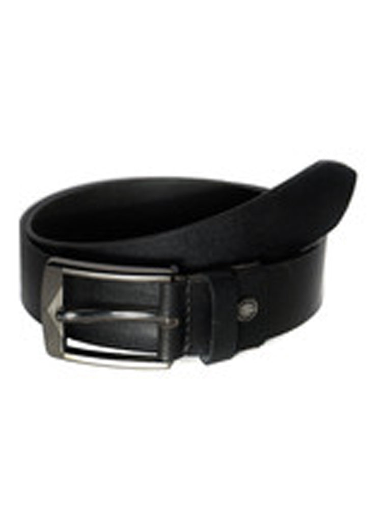 Best Selling Mens Casual Hand Padded Leather Belt Leather / 28 / Black, Mens Leather Belt - CrabRocks, LeatherfashionOnline  - 2