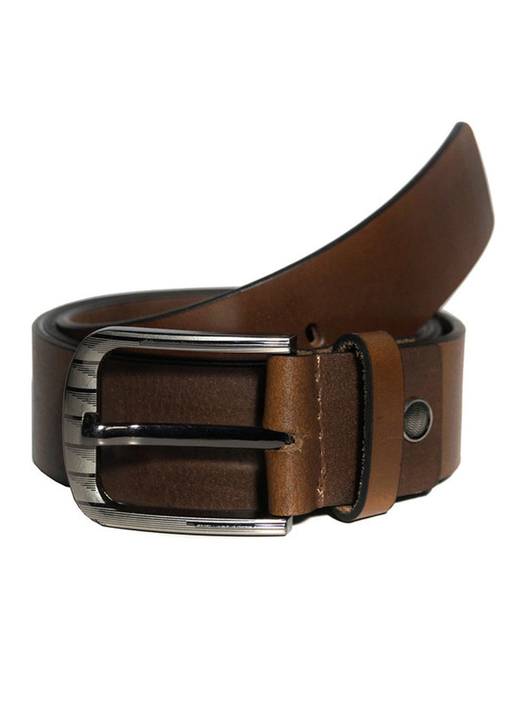 Best Selling Mens Casual Hand Padded Leather Belt 033 , Mens Leather Belt - CrabRocks, LeatherfashionOnline  - 1