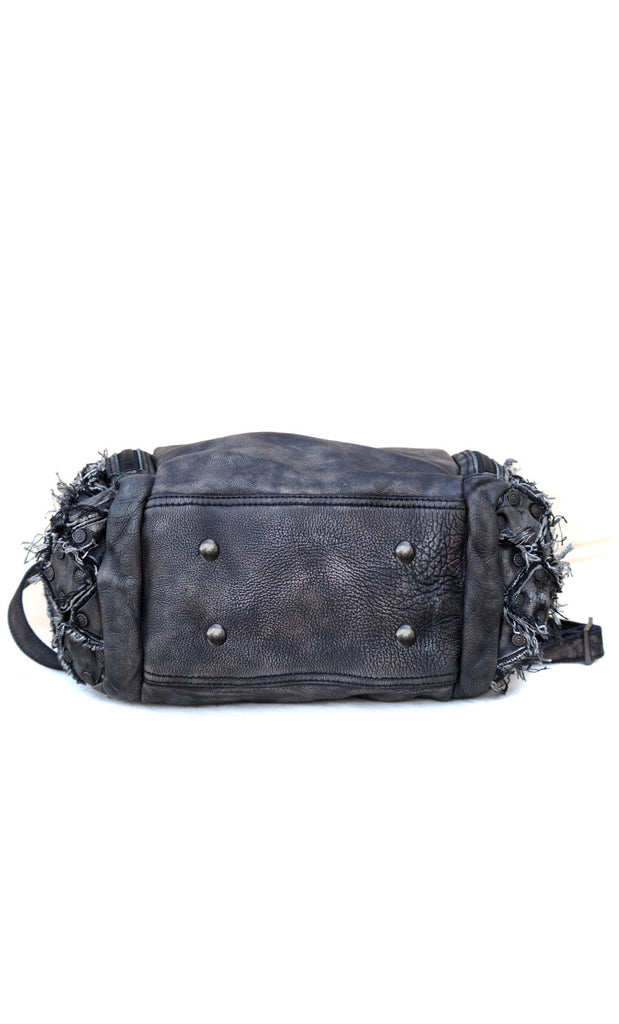 Rugged Denim Wash Duffel Bag
