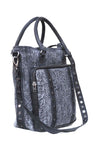 Handmade Leather Top Handle Hobo Bag with Structured Effect with Adjustable Shoulder Strap