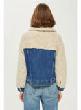 9062 Fur Jean Jacket Woman,Woman Denim Jacket Fur Lining-Warm Jacket  Collection
