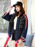 9085 Denim Jacket With Pearls,Women Jean Jacket Wholesale