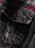 9096 Denim Embroidered Jacket,Men Denim Jean Jacket Hoodie,Plus Size Denim Jacket