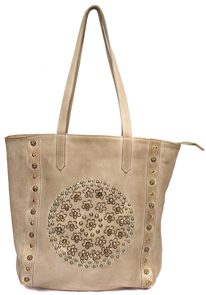 Vannamoda Marrow Women Leather Handcrafted Tote Bag