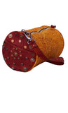 Women Round Drum Duffle Bag Across Body