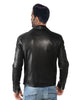 Crabrocks Men Washed Waxed Casual Leather Jacket with Classic Fit , Men Jacket - CrabRocks, LeatherfashionOnline  - 2
