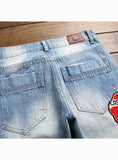 S425 New Hot Top Quality Embroidered Funky Punk Patch   Jean