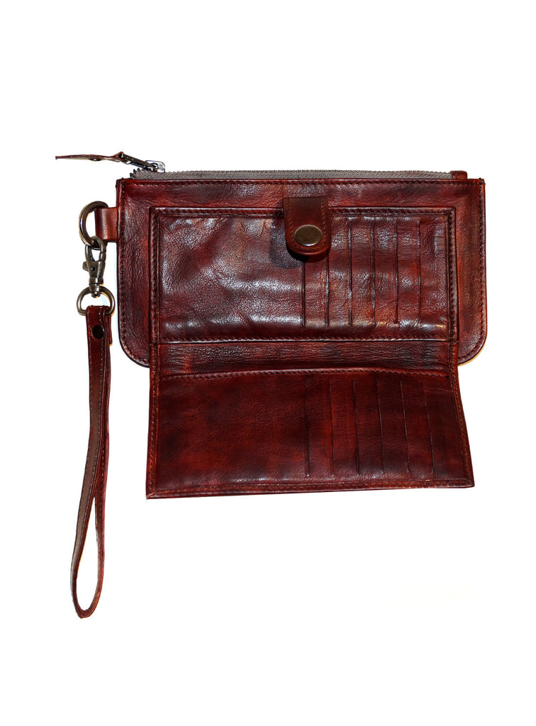 Alex Vintage Leather Women Wallet