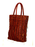 Leather Vintage Washed Tote Bag- New