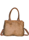 Vannamoda Camellia Women's Baguette Leather Bag