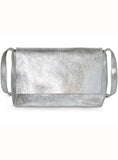 Chelsea Silver Metallic Leather Women Bag -A Must Haves