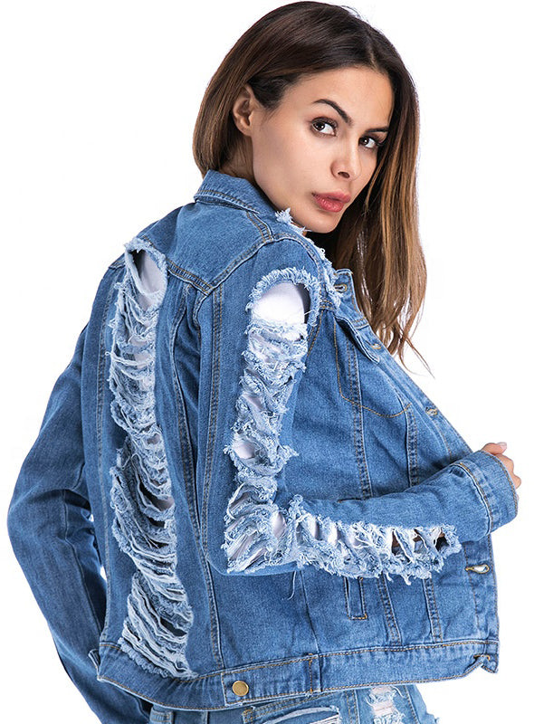 WOMEN OVERSIZE JEANS JACKET COLLECTION