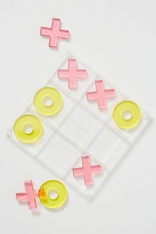 SunnyLife Lucite Tic Tac Toe Superfly