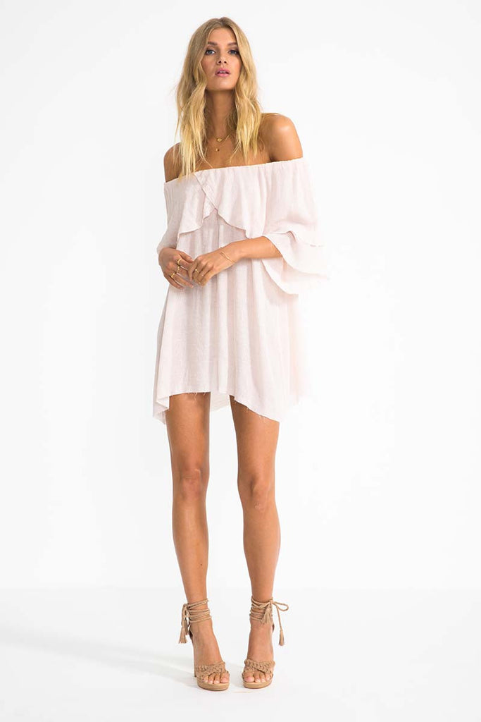 Suboo- Perfect Day Off-Shoulder Dress