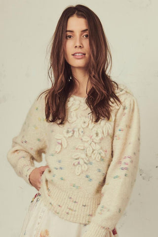 LoveShackFancy Claudette Sweater