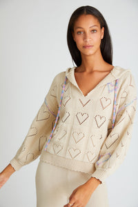 Love Shack Fancy Marea Hoodie