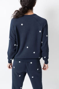 Leallo Star Pant Navy