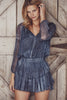 Love Shack Fancy - Popover Dress Navy