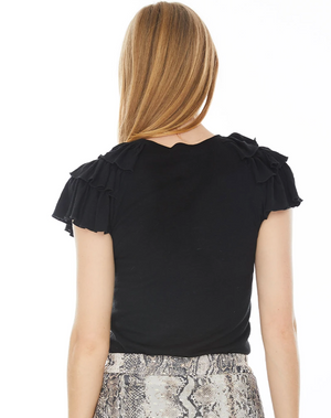 Generation Love Carrie Ruffle Top