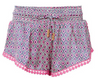Paloma Blue - Fuschia Eye Short