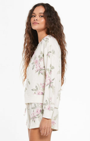 Z SUPPLY Elle Floral Top