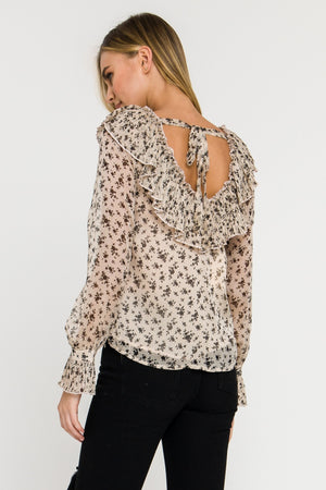 Ruffle Detail Blouse