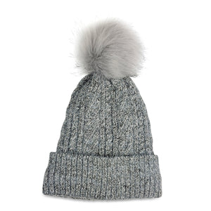 Hat Attack Denim Fleece Lining Beanie