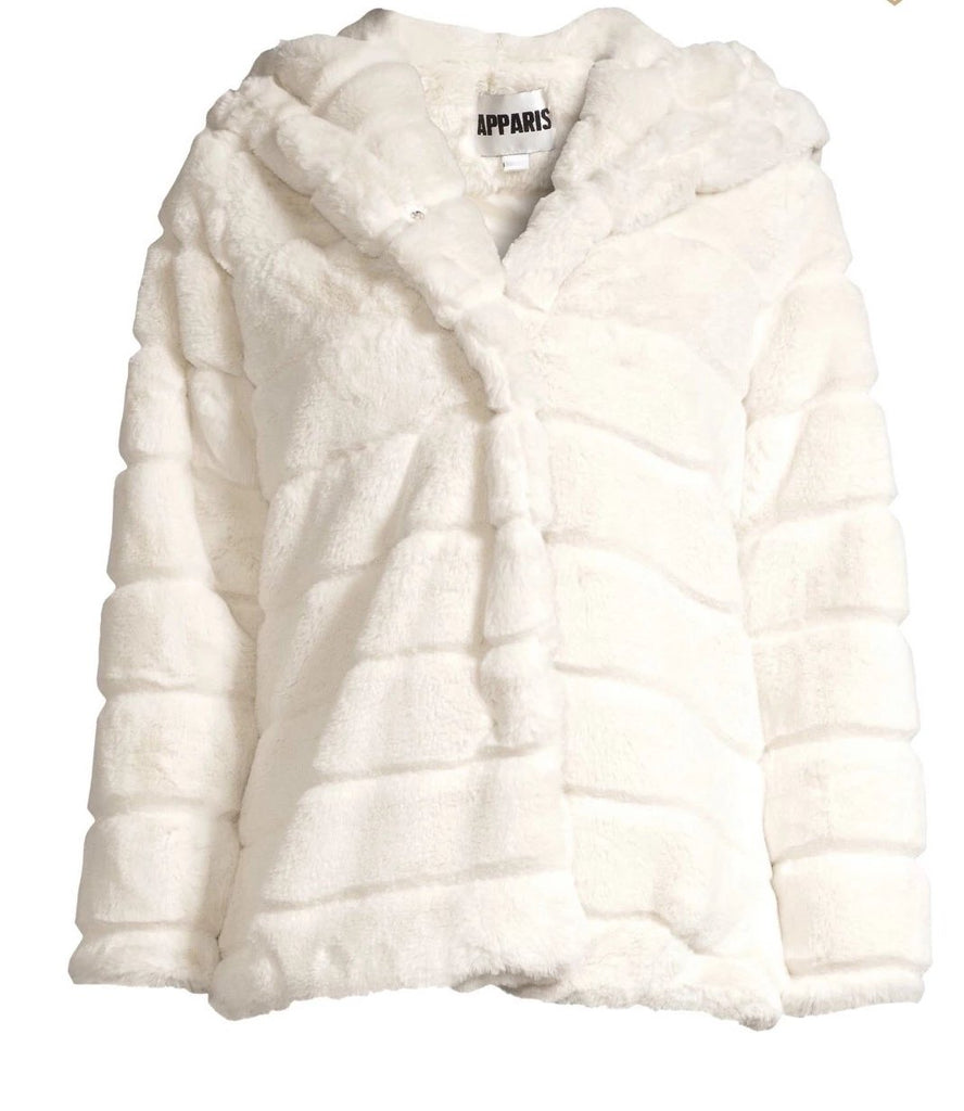 Apparis - Goldie Faux Fur Ivory