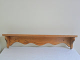 "Oak Shelf - 30"" long"