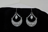 Earrings - Silver Leaf