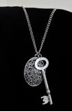 Necklace - Locket and Key