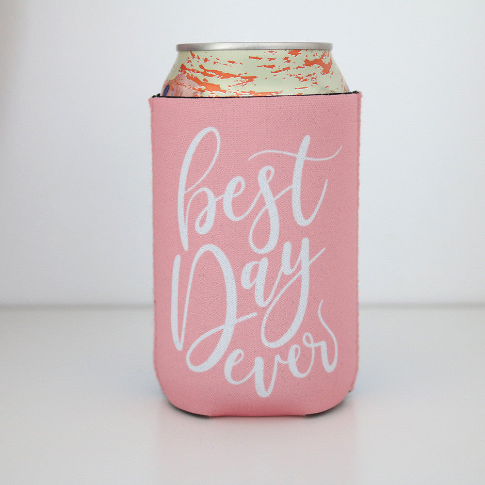 Koozie - Best Day Ever Can or Bottle Insulator