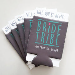 Koozie - Bride Tribe Can or Bottle Insulator