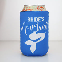 Koozie - Bride's Mermaid Can or Bottle Insulator