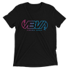 Waveline Multi Color Logo Short Sleeve Tri-blend T-shirt