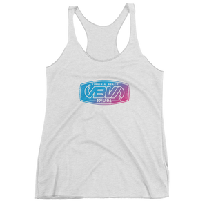 Women's Iron Press Logo tri-blend Racerback Tank