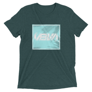 Backbay Emerald Green Short Sleeve Tri-Blend T-shirt