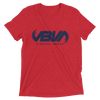 Mens Red Hometown short sleeve tri-blend t-shirt
