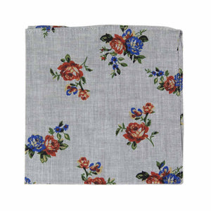 Vintage Flor Pocket Square