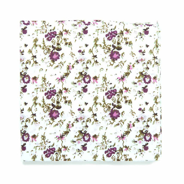 DAZI Floral Pocket Square Sweetly Picked