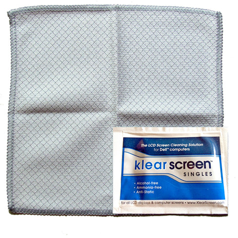 Klear Screen TS-50 (Wet) Travel Singles Reg. $37.50, Now $17.95 - You Save $19.55