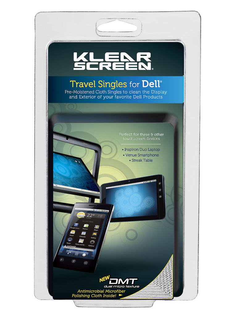 Klear Screen Dell™ Travel Singles Kit