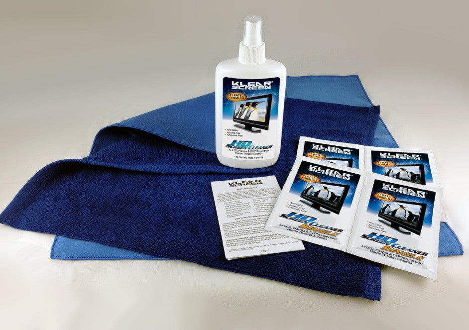 Klear Screen HD Screen Cleaning Kit - Eco-Friendly Package