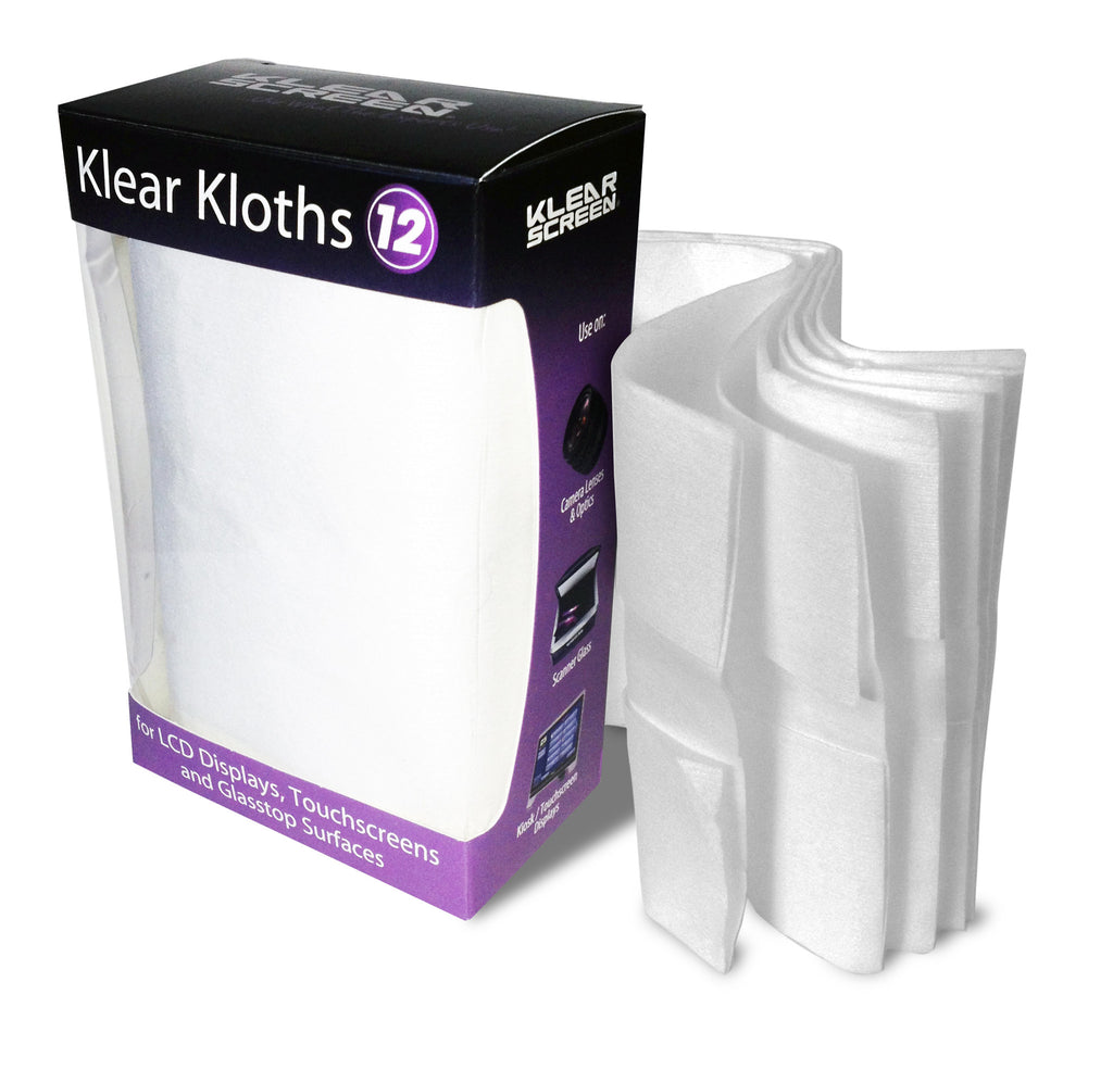 Klear Screen Klear Kloths