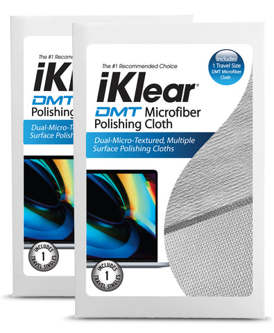 iKlear DMT Microfiber Cloth - 2 Pack